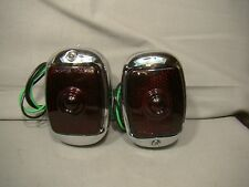 37 38 chevy car taillight tail light assemblies 1937 1938 master 85 deluxe