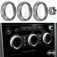 Climate Control Trim Kit Set in Silver for Land Rover Discovery 5 L462