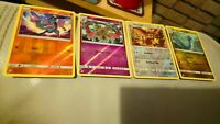 Dragonair, riolu, doublade, noctowl, reverse holo, unified minds