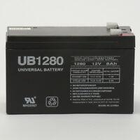 UPG UB1280 F2 12V 8Ah Compatible Battery for APC SmartUPS 360SX 420 420NET