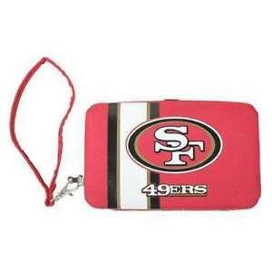 "San Francisco 49ers Ladies Smart Wristlet Purse Wallet  (3.5"" X .5"" X 6"")"