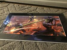 "SDCC 2019 Blizzard Arnold Tsang  ""Blade and Barrage"" Fine Art Print IN HAND"