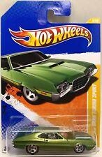 Hot Wheels '72 Ford Gran Torino Sport - 2011 New Models - Momc