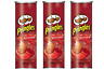 Fresh New Sealed KETCHUP Pringles 156g x 3 cans CANADIAN