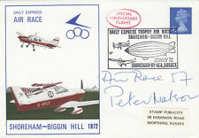 (05372) GB FDC Shoreham-Biggin Hill Air Race 20 MAGGIO 1972