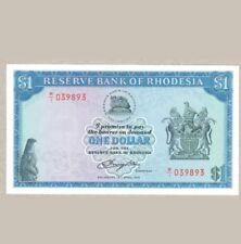 1978 Rhodesia 1 Dollar W/1 Replacement <P-34c*> UNC