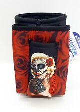 Ninc Lady Design Cigarette Pack Pouch/Lighter Holder 12 Oz Can Cooler