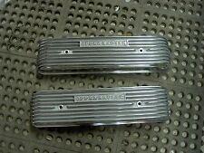 NOS Offy Offenhauser Olds Oldsmobile 1949-56 303 324 finned alum valve covers