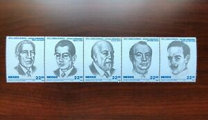 Mexico 1985 Scott #1397a Authors Mint NH