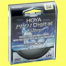 Genuine Hoya 52mm Pro1D Digital Lens Protector Clear Filter