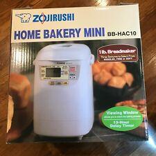 New listing Zojirushi Bb-Hac10 Home Bakery 1Lb Loaf Programmable Mini Bread Maker Machine