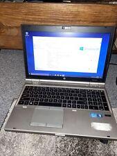 HP EliteBook 8460p 4GB RAM, i5-2520M, 2.50GHz, 250GB HDD Windows 10 Pro Laptop