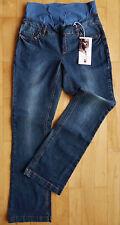 (PO03) UMSTANDSHOSE JEANS 5-Pocket Style Gr N 34-40 K 17-20 L 72-84 Umstandsmode