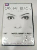 Orphan Black Prima Stagione 1 Completa BBC - DVD Spagnolo Inglese Nuovo