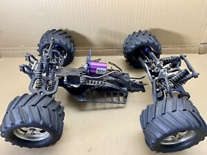 Traxxas E-Maxx T-Maxx 1/8 1/10 RC Brushless Monster Truck Project 4WD Upgrades