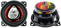 """2) New BOSS CH4220 4"""" 200W 2-Way Car Audio Coaxial Speakers Stereo Red PAIR"""