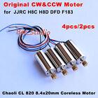 Original CW/CCW Motor For JJRC H8D H8C DFD F182 F183 RC Quadcopter Spare Parts