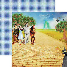 Paper House WIZARD OF OZ-SURRENDER DOROTHY 12x12 Dbl-Sided Scrapbook (2pc) Paper