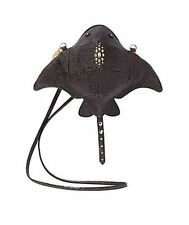 Betsey Johnson KITSCH STINGRAY Crossbody BJ66500N BLACK textured, DEVIL RAY fans