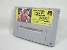 Super Famicom SLAM DUNK SD HEAT UP ! Nintendo Video Game Cartridge Only sfc