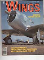 Wings Airplane Magazine V8 #6 Special Flying Salon Flights Portraits