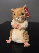 Ty Beanie Babies 2000 Pellet The Hamster, Small Hole In Tush Tag From Price Tag