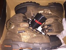 """New Mens Wolverine Claw 6"""" Realtree Waterproof 400G Hunting Hiking Boot 13 $160"""