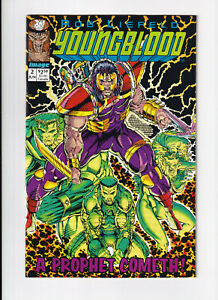 Youngblood #2 1st Appearance of Prophet Green Title Variant with Cards Attached