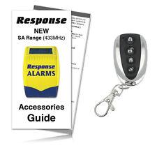 Response Alarms SAR / SAURC Premium Executive Remote Control 433MHz (Inc Guide)