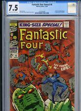 Fantastic Four Annual 6 - CGC 7.5 - Franklin Richards birth & 1st Annihilus