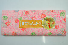 UN-USED 100% ACRYLIC KIMONO BOLT:Pink Chrysanthemum / Pine Tree Needle@YO41