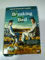 Breaking Bad Segunda Temporada 2 Completa - 4 x DVD Español Ingles - 3T