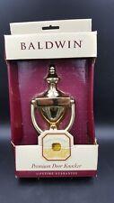 Baldwin Colonial Door Knocker 90102-003 Brass Color New Old Stock