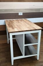 Stentorp Kitchen Island 1260 x 790 x  900 mm White