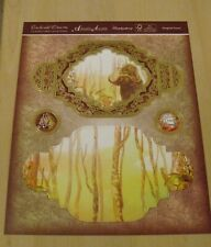 HUNKYDORY  - 2 CARD PROJECT KITS FROM THE MAGICAL FOREST