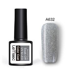 8ml LEMOOC Glitter UV Gel Nail Polish Soak Off UV Gel Nails Manicure 80 Colors