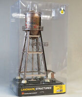 WOODLAND SCENICS HO SCALE LIGHTED RUSTIC WATER TOWER BUILT READY gauge 5064 NEW
