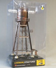 WOODLAND SCENICS HO SCALE LIGHTED RUSTIC WATER TOWER BUILT READY gauge WDS5064