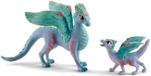 FLOWER DRAGON AND CHILD  70592 by Schleich  Bayala   ***<><