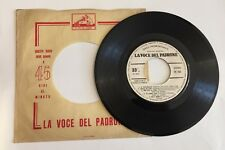 """RARO 7"""" A 33 GIRI PROMOZIONALE LA VOCE DEL PADRONE 1967 I NOMADI 4 BRANI + VARI"""