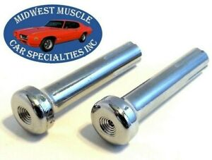 GM Chevelle GTO 442 Impala Interior Door Panel Lock Latch Push Pull Knob 2pcs B