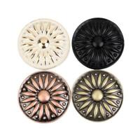 Vintage Round Knob Cabinet Drawer Door Pull Handle Retro Closet Decor 4 Colors