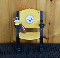 Pittsburgh Steelers Stadium Chair Ornament  NFL Football Team Sports America