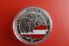 *Österreich Silbermedaille PP ca.20g.-ca.40mm *65 Jahre Zweite Republik*(BOX2