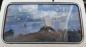 (8pc) 83-91 Mitsubishi Montero Rear Window Glass Chrome Trim