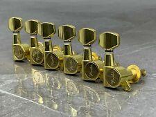 Tuners Mechaniken Fender für Stratocaster Telecaster Gitarre 6 Rechte Gold