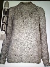 Thakoon Addition Long Sleeve Winter Sweater with a zipper on the back Size S