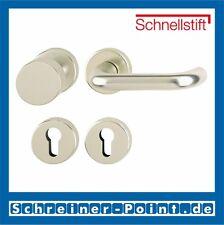 Hoppe Paris Aluminium Rosette F2 Neusilber 58/42KV/42KVS/138L WG Wechselgarnitur