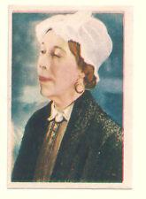 1936 Spanish Nestle Film Star Paper Thin Stamp Sticker  #67 Edna May Oliver