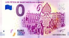 54 NANCY Les fêtes de Saint-Nicolas, N° de la 4ème, 2018, Billet 0 € Souvenir